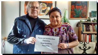 PEDIDO: Dos Premios Nobel de la Paz latinoamericanos piden un embargo militar a Israel