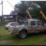 POLICIALES: Allanamientos en Necochea y González Chaves por robo de soja