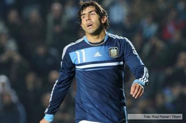 SELECCIÓN: Martino convocó a Tevez para los amistosos contra Croacia y Portugal
