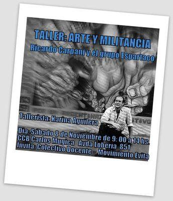 POLÍTICA: Actividad de Arte y Militancia en el Mugika