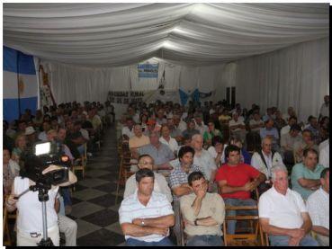 En asamblea de CARBAP en Tres Arroyos denuncian cartelización en la cadena triguera