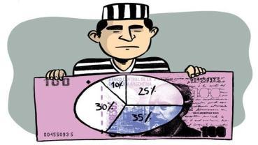 La verdad sobre el sueldo de los presos