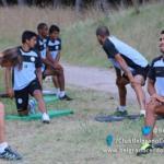 FÚTBOL: Belgrano ya entrenó en Necochea