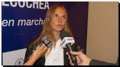 Silvia Jensen. Una dirigente exitosa. ¿El Frente de Todos es ciego?