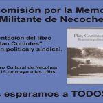 NECOCHEA: Presentación de libro