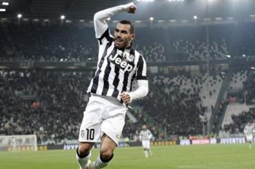 Con gol de Tevez, Juventus le ganó al Real Madrid