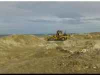 Necochea y el robo de arena