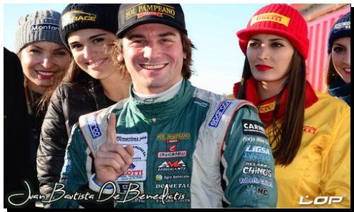 ROP RACE: Juan Bautista De Benedictis en el equipo oficial Fiat