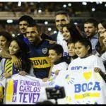 """BOCA: Tevez en su presentación en la Bombonera, """"Si era por mí, entraba ayer"""""""