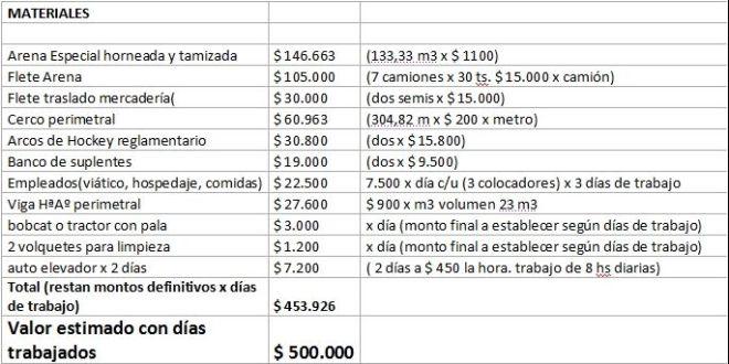 costos cancha hockey 1