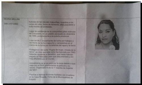 PERSECUCIÓN: Salta el espionaje a vecinos y activistas en Esquel