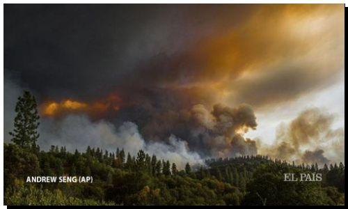 CALIFORNIA: Un muerto, 23.000 evacuados y 1.000 edificios quemados