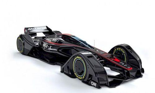 FÓRMULA 1: McLaren prepara un Fórmula 1 parecido al «Batimóvil»