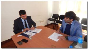 NECOCHEA: López firmó acuerdo con la Asesoría General de Gobierno de la provincia