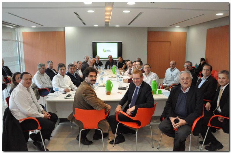 CARBAP participo de la primera reunión del Consejo Consultivo Agroindustrial del Banco Provincia