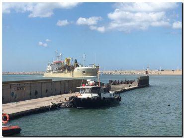 Dragando Puerto Quequén para potenciar la capacidad operativa