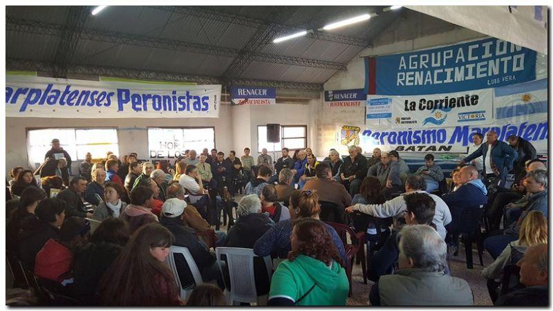 Plenario Peronista en Mar del Plata