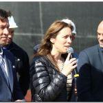 Vidal y Dietrich anunciaron 200 millones de dólares de inversión para potenciar Puerto Quequén