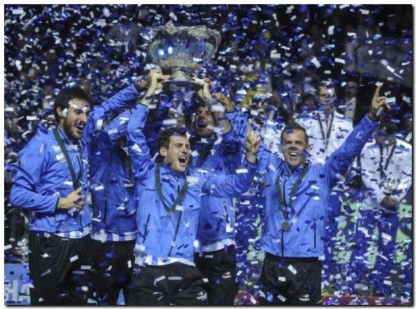 Histórico: Argentina campeón de la Davis