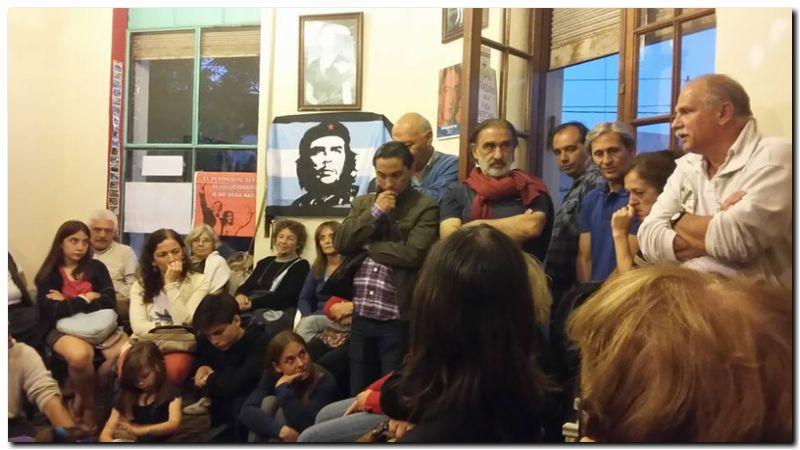 Homenaje a Fidel en Necochea