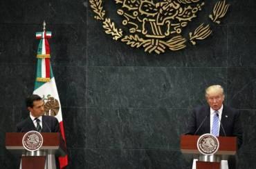 ACTUALIDAD: Peña y Trump buscan sofocar crisis diplomática