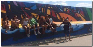 ARTE CIUDAD: Puerto Quequén inaugura su Galería de Arte a Mar Abierto