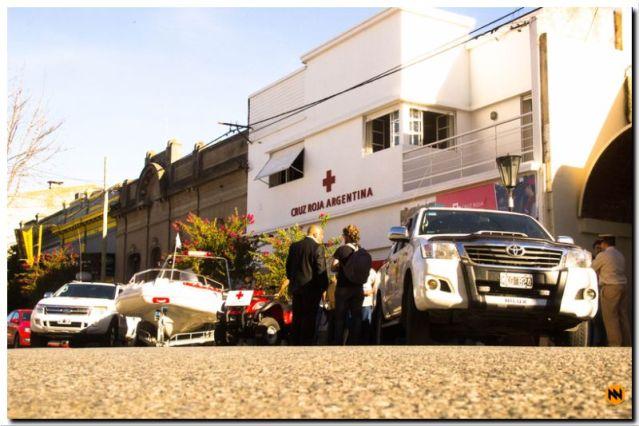 Gran aporte de Cruz Roja Argentina al partido de Necochea