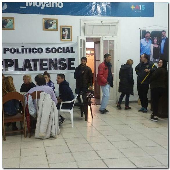 POLÍTICA: El frente político y social marplatense junto a damnificados