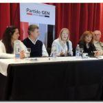 ELECCIONES 2017: Margarita Stolbizer junto a Omar Duclós estuvieron en Olavarría