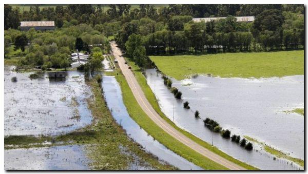 AGRO: Productores inundados y con aumentos en los impuestos