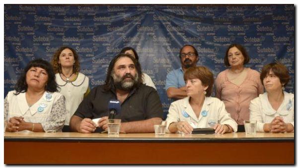 EDUCACIÓN: Continúa el conflicto entre Vidal y SUTEBA