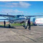 SOCIEDAD: Lucía Calderón ya fue trasladada en avión al hospital de Florencio Varela