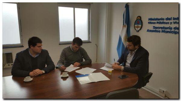 NECOCHEA: López firmó convenio en Nación para nueva tecnología
