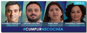 ELECCIONES 2017: Actividades en Necochea