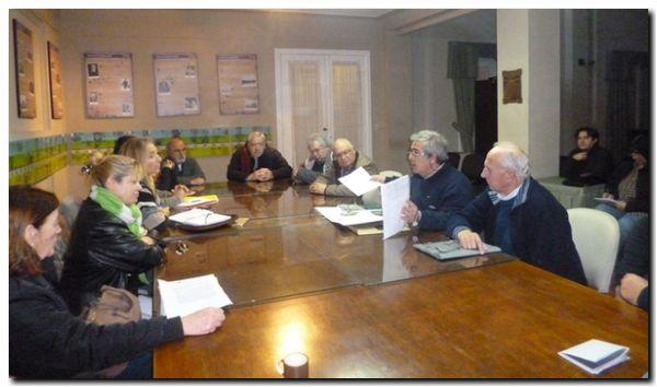 NECOCHEA: Reunión de Comisiones en Concejo Deliberante