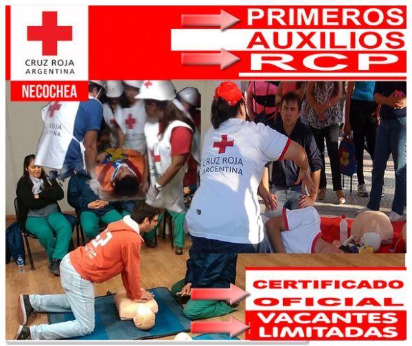 NECOCHEA: Comienzan nuevos cursos certificados por Cruz Roja Argentina