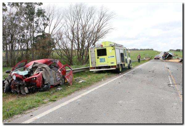TRÁNSITO: Un hombre murió en un choque frontal, en la Ruta Nacional 226