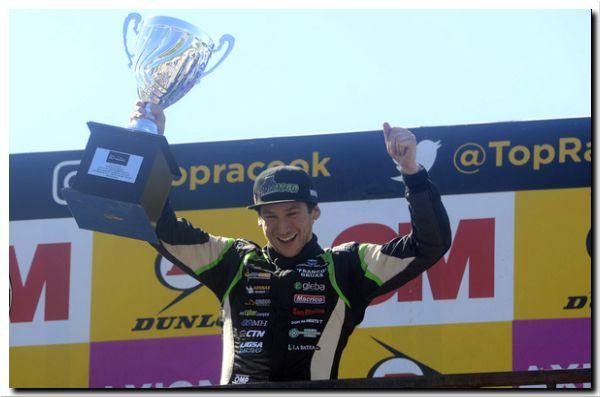 TOP RACE SERIES: La pantera, al final, sumó su segundo triunfo consecutivo
