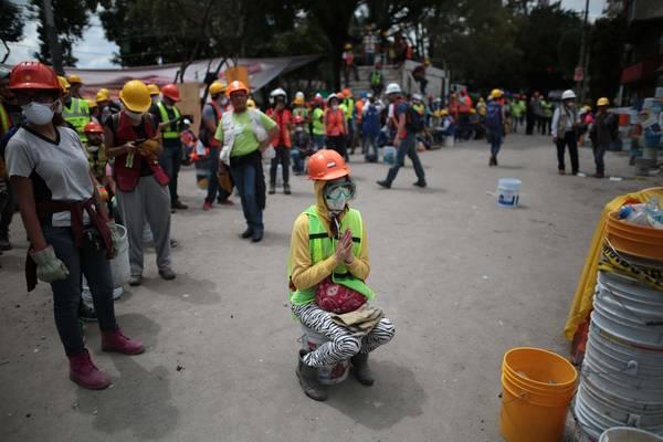 MÉXICO: Otro temblor, nuevamente el pánico