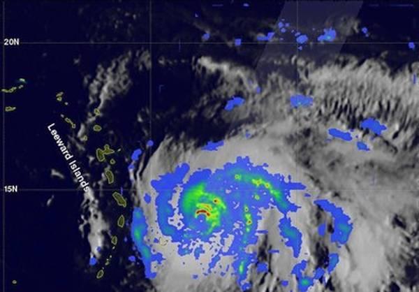HURACANES: María causa daños en el Caribe, rumbo a Puerto Rico