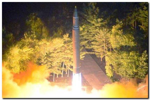 EL MUNDO: Pyongyang lanzó un nuevo proyectil intercontinental