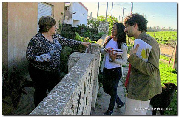 ELECCIONES 2017: Unidad Ciudadana recorrió barrios de Quequén