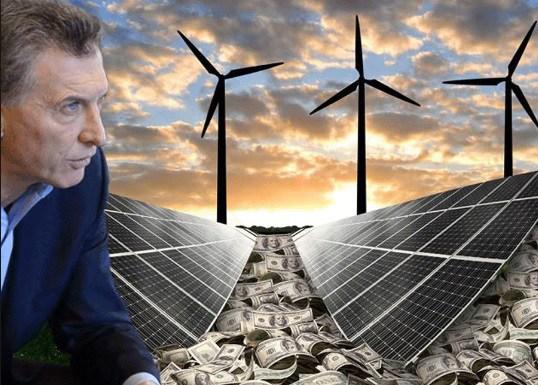 ENERGÍAS RENOVABLES: Macri anuncia hoy en Casa Rosada un acuerdo sectorial
