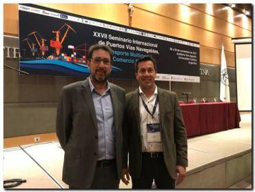 PUERTO QUEQUÉN: Arturo Rojas en Seminario Internacional