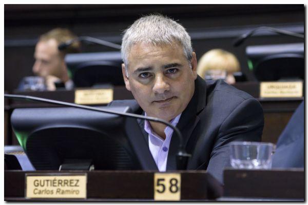 LEGISLATIVAS: Ramiro Gutiérrez dijo «vamos a tener policía judicial de calidad»
