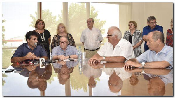 NECOCHEA: Especialmente invitado, López participó en la Usina de la reunión de APEBA