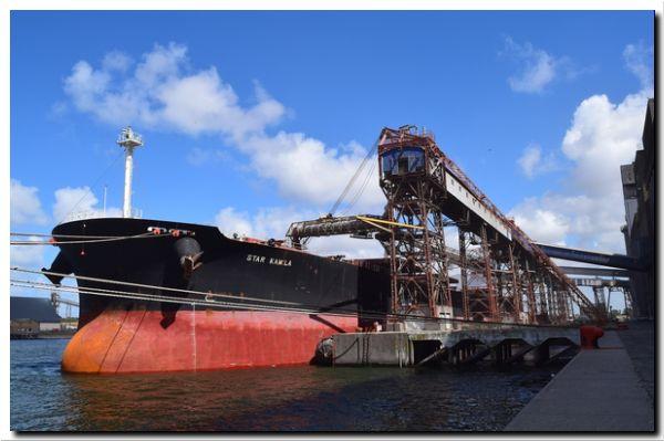 PUERTO QUEQUÉN incrementa su carga con embarques a bodega completa