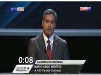 PARAGUAY: Mario Abdo Benítez sale victorioso del debate presidencial