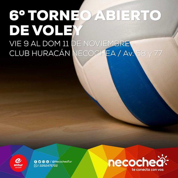 VOLEY: Se viene el 6° Abierto del Club Huracán, el más importante del país