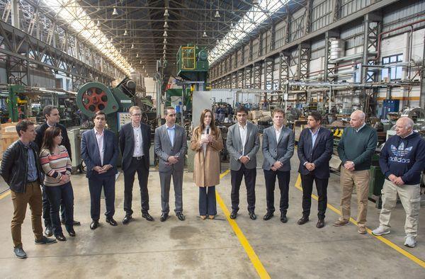 PROVINCIA: Anuncios de Vidal en apoyo a las PyMES